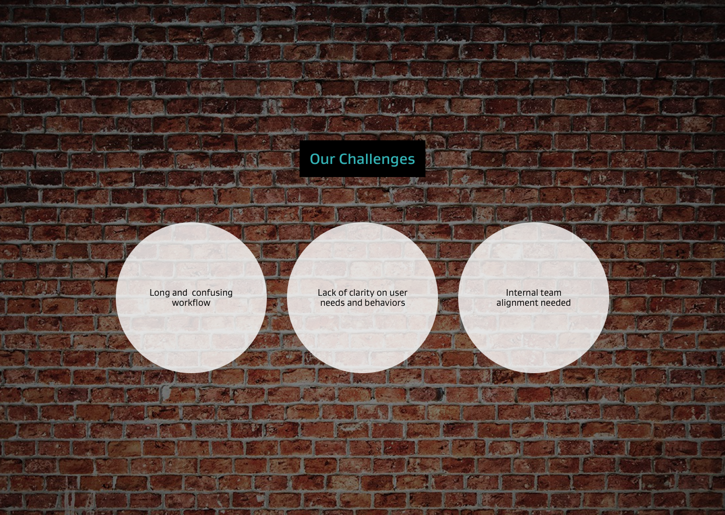 3. Our challenges
